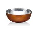 Godinger 19463 Hammered Copper Salad Bowl