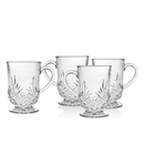 Godinger 25213 Dublin Set of 4 Coffee Mugs