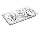 Godinger 25411 Dublin Scalloped Tray 10X6In