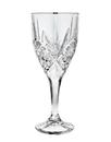 Godinger 25438 Dublin Set of 4 Goblets - Platinum