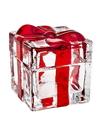 Godinger 28643 Red Striped Box 3.4 X 3.5