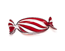 Godinger 28647 Peppermint Red Wrapper-Small