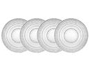 Godinger 42305 Lumina S4 10.5 Dinner Plates
