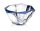 Godinger 42834 Dorian Blue Accent Bowl