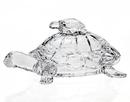 Godinger 4291 Turtle Crystal Box