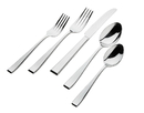 Godinger 43009 18/0 77pc Chisel Flatware Set
