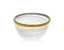 Godinger 43654 Alabast Wht.gold 4 Bowl Bulk