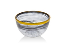 Godinger 43656 Alabast Blk.gold 4 Bowl Bulk