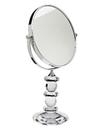 Godinger 44544 Faceted Crystal Mirror On Stnd