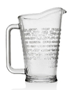 Godinger 48198 Raise A Glass Pitcher