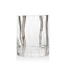 Godinger 48553 Seabreeze Platinum Set of 4 Double Old Fashioned Glasses