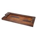 Godinger 49841 Rectangular Wooden Tray 20 X 12