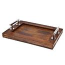 Godinger 49842 Rec Wooden Tray 16 X 12
