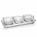 Godinger 54226 Hamilton House 4pc Relish Set