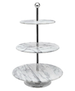 Godinger 61820 La Cucina Marble 3 Tier Server