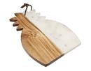 Godinger 61887 Pineapple Shape Marble Board