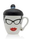 Godinger 62108 Lady Hipster Rockabilly Mug