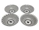 Godinger 64008 S/4 Assorted Barnyard Bowls