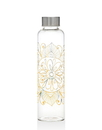 Godinger 64037 Indian Design Glass Bottle