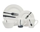 Godinger 64062 16pc Acme Diner Dinnerware