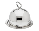Godinger 64273 Ellipse Round Tray And Dome