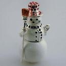 Godinger 6975 Snowman Trinket Box