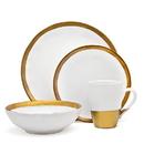 Godinger 70115 Terre D'Or 4 Pc Dinner Set