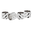 Godinger 7273 Hillcrest Set of 4 Napkin Rings