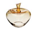 Godinger 76628 Apple Amber Vase Small