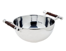 Godinger 82601 Bamboo Handle Salad Bowl