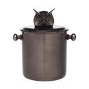 Godinger 82760 Ice Bucket Owl Head Finial
