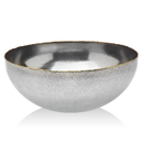 Godinger 84103 Golden Frost Salad Bowl
