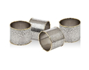 Godinger 84111 Golden Frost S/4 Napkin Rings