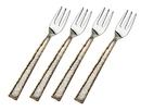 Godinger 84115 Golden Frost S/4 Dessert Forks