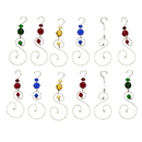 Godinger 8415 S/12 Ornament Hanger Color Gls