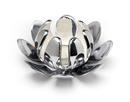 Godinger 90024 2 Pc. Lotus Votv Holder -White