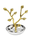 Godinger 91307 Leaf Ring Holder Gold Border