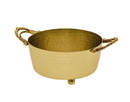 Godinger 91503 Handeled Relish Bowl - Gold