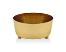 Godinger 91508 Gold Finish Relish Bowl