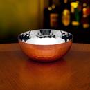 Godinger 91680 Copper Hammerd Rnd Nut Bowl Lg