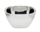 Godinger 91700 Hammered Fruit Bowl Double Wal