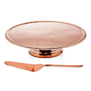 Godinger 91760 Copper Finish Cake Stand/servr
