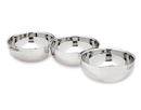Godinger 9179 S/3 Hammered Connecting Bowls