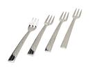 Godinger 94435 Croco Dessert Forks Set of 4