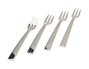 Godinger 94435 Croco Dessert Forks S/4