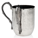 Godinger 94968 Woodland Wash Cup Bn Handle