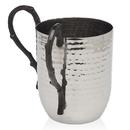 Godinger 94969 Hammered Wash Cup Strt Bn Hndl