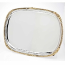 Godinger 9595 Rect Tray With Gold Border