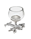 Godinger 9791 Airplane Base Shot Glass