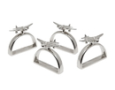 Godinger 9799 Airplane Napkin Ring Set Of 4
